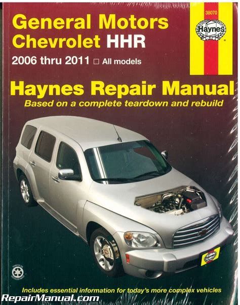 how to download repair manuals 2006 chevrolet hhr panel windshield wipe control chevrolet hhr 2006 2011 repair manual by haynes