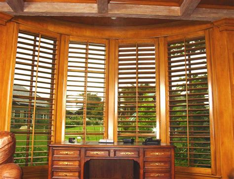 Wooden Window Shutters Interior Danmer