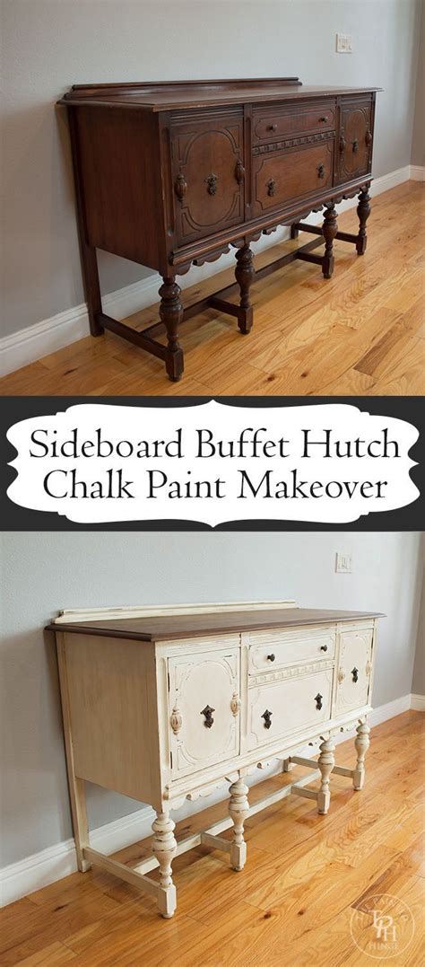 chalk paint buffet ideas sideboard buffet hutch chalk paint makeover sideboard