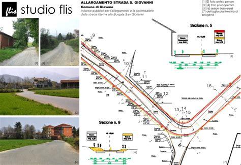 progetto illuminazione stradale allargamento strada s