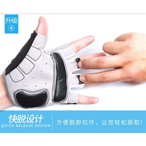 Sarung Tangan Half Finger sarung tangan sepeda half finger size l black white