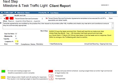 traffic light report template luxury traffic light report template images resume ideas