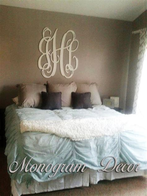 monogram decorations for bedroom bedrooms cas and monogram wall letters on pinterest