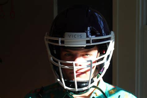 new football helmet design vicis vicis football helmet unboxing watch a high school