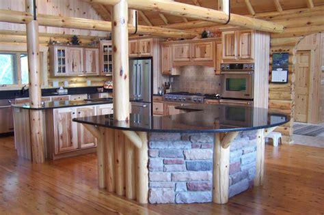 Log Cabin Kitchen Cabinets by Kitchen Styles Log Cabin