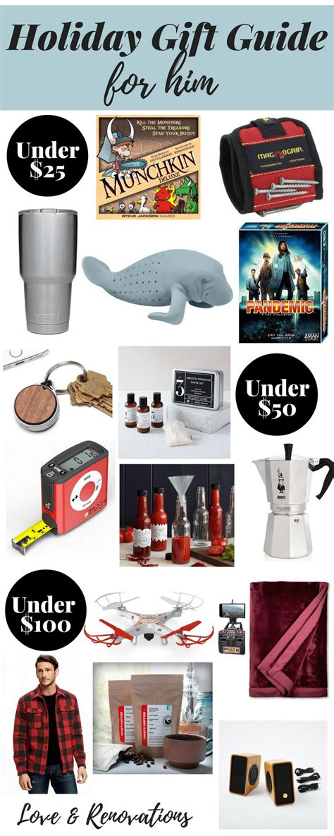 2016 holiday gift guide for him love renovations