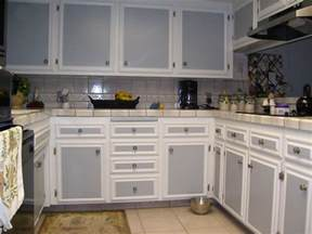 two color kitchen cabinet ideas kitchen white kitchen cabinet grey door brown tile floor