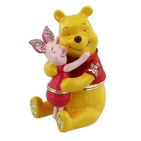 disney collectable trinkets present pooh and piglet
