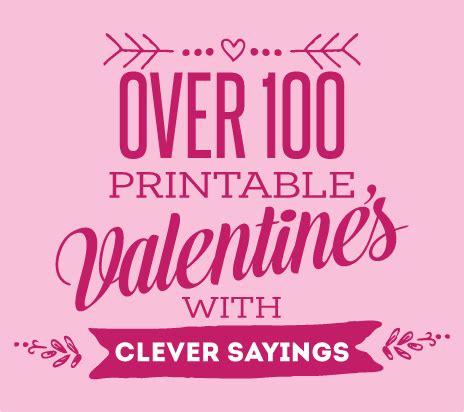 printable valentine quotes printable valentine cards skip to my lou