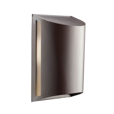 sky lighting lowes shop kichler 12 in h architectural bronze sky outdoor
