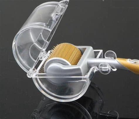 Dermaroller 1 5mm dermaroller 192 agulhas 1 5mm zgts gold titanium p
