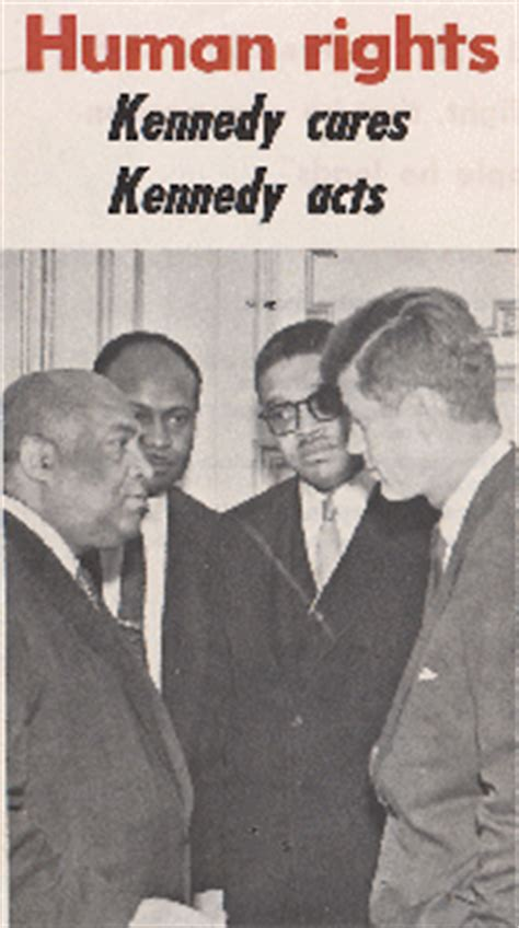 john f kennedy and civil rights movement jfk on civil rights quotes quotesgram