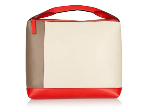 Trovata Canvas And Patent Tote The Bag Snob 4 by Marni Pod Color Block Leather Shoulder Bag Eye Pod