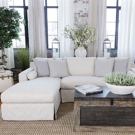 white sectional sofa decorating ideas best 20 slip covers ideas on slipcovers