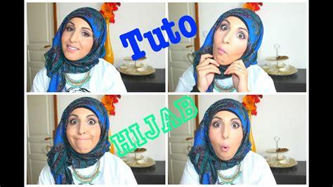 tuto hijab simple  rapide quick  easy hijab