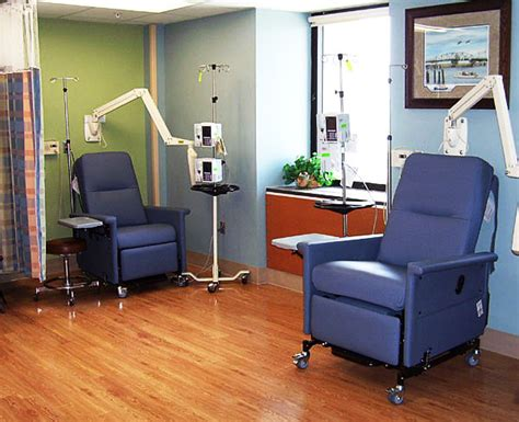 chemotherapy room the of a former cancer patient necessary doctor appointments