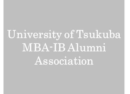 Of Tsukuba Mba Ib 地域同窓会 tsukuba alumni network