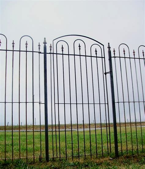 wide gate 36 quot wide iron gate for 6 fence