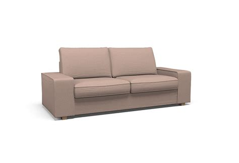 kivik couch cover kivik two seat sofa cover polo almond heather by
