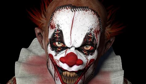 Clown L killer clowns did a cinematic masterpiece give a hint of