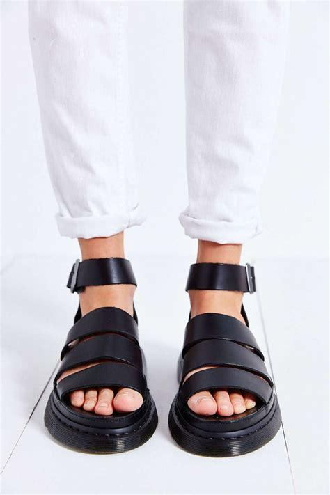 doc martens sandals dr martens clarissa chunky sandal d e t a i l s
