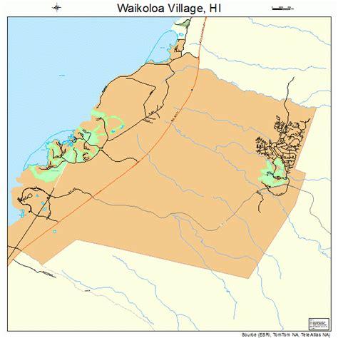 waikoloa resort map hawaii waikoloa hawaii map 1576600