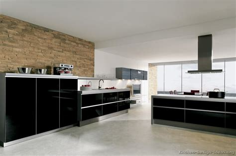 modern black kitchen pictures of kitchens modern black kitchen cabinets page 2