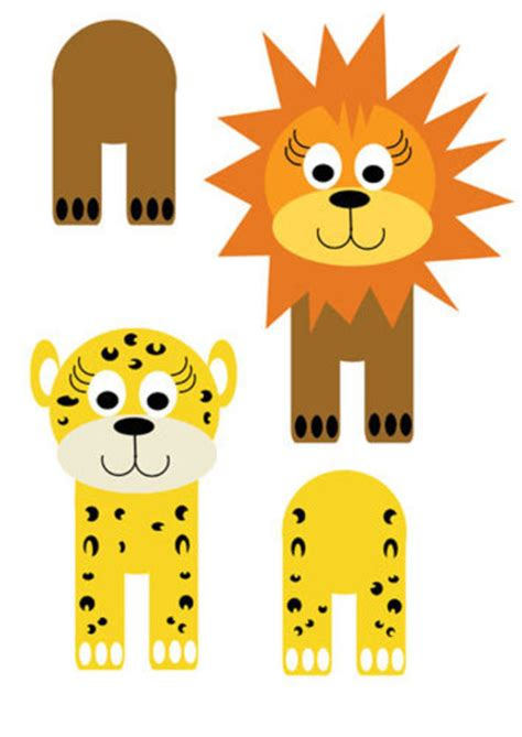 easy animal crafts for printables for easy animal crafts my kid craft