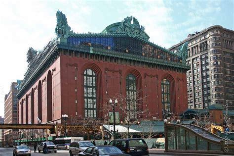Library Chicago Chicago Architecture Cityscape Harold Washington Library