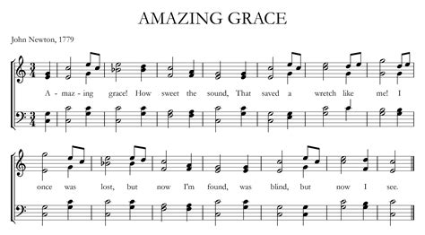 tutorial piano amazing grace sheet music for amazing grace on piano for beginners