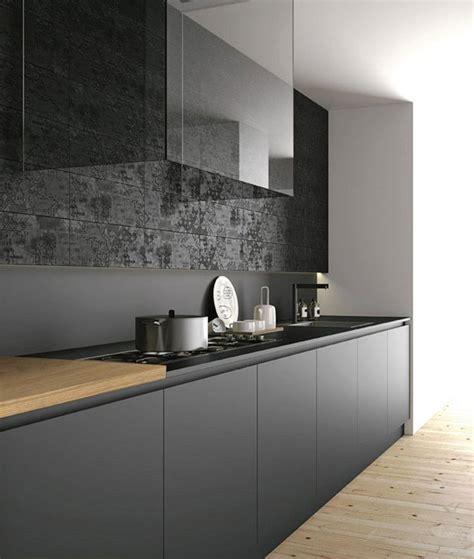 Cucina Nera E Legno by Cucina Nera Legno Cerca Con Cucine
