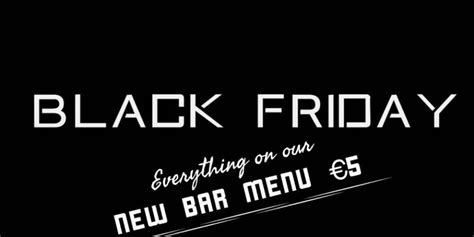 black friday deals in dublin pubs publin