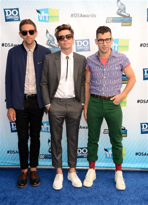 what is jack antonoff style nate ruess photos photos 2012 do something awards