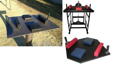 tavolo braccio di ferro power rack e tavolo per braccio di ferro standard fai da