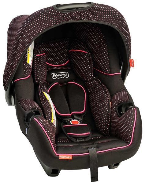 belt infant car seat buy fisher price infant car seat deluxe pink dots