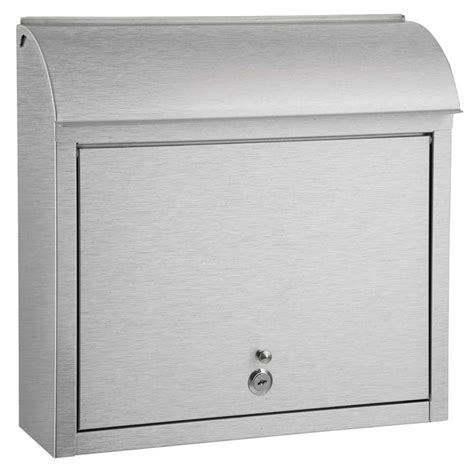 qualarc compton locking mailbox wf l33sl the home depot