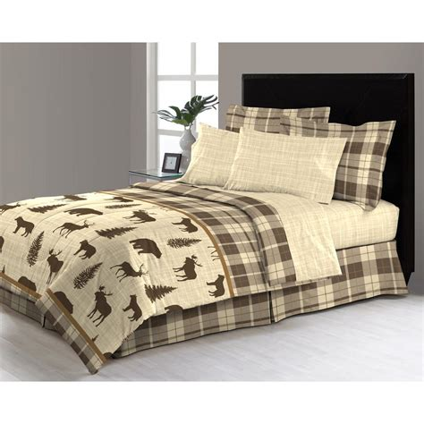 queen bed in a bag sets east thornton 8 piece queen bed in a bag comforter set