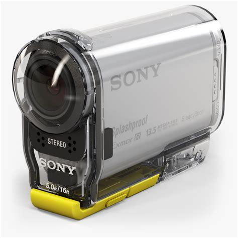 Sony Hdr As100v hdr as100v 3d models