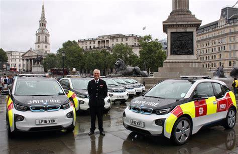 london fire brigade opts   emission car fleet