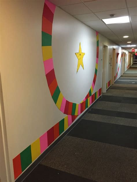 mario kart rainbow road floor theme mario kart halloween office mario kart mario party