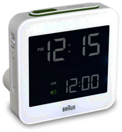 braun braun bnc digital alarm clock contemporary