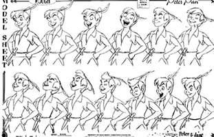 walt disney characters images walt disney model sheets peter pan wallpaper photos 27195876