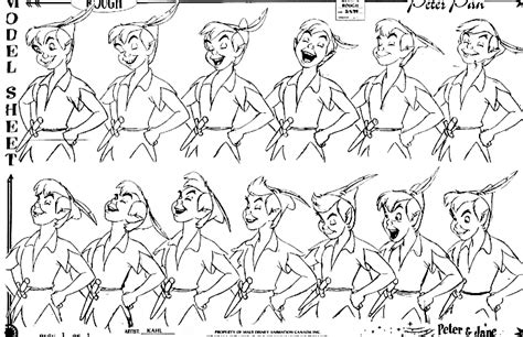 layout process in animation walt disney characters images walt disney model sheets