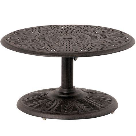 Patio Umbrella End Table Patio Umbrella Side Table Chateau By Hanamint Luxury