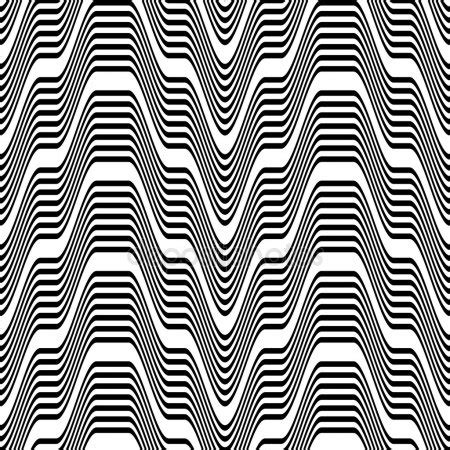 black and white zigzag pattern pattern black and white zigzag stock vector