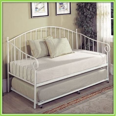 king size bed with trundle ornamental modern metal iron day bed trundle bed for sale