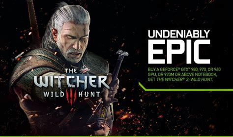 Nvidia Design Garage how to redeem your witcher 3 wild hunt game code geforce