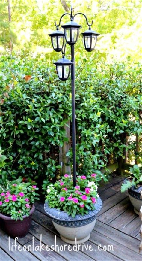 Light Post Landscaping Ideas Led Solar Light L Post Landscaping Gardening Ideas