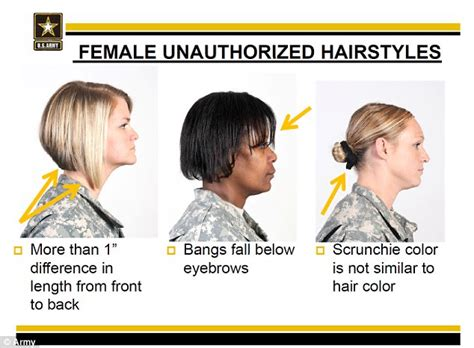 required police hair styles u s army accused of being racially biased over
