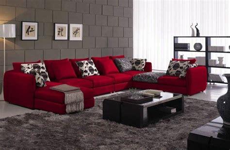 red couch design ideas تصاميم واشكال كنب مودرن ديكوري